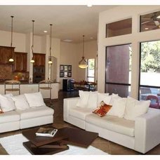 Modern Living Room by Interiority Complex, LLC