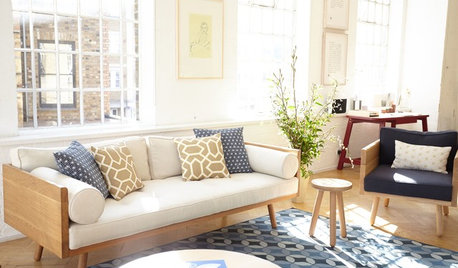 How to Embrace Geometrics in Your Living Room