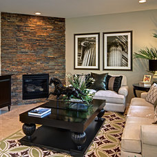 Traditional Living Room by Sonoma Real Estate Photography