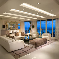 Modern Living Room by Interiors by Steven G