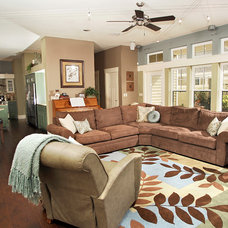 Traditional Living Room by Dalrymple | Sallis Architecture