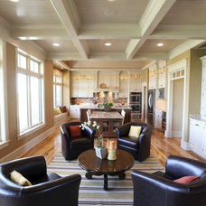 Traditional Living Room by Ed Saloga Design Build