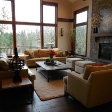 Traditional Living Room by Nordby Design Studio, Architecture & Interiors LLC