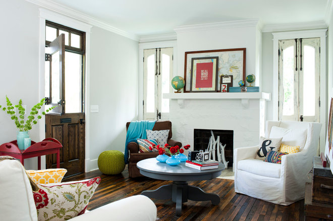 Eclectic Living Room by Jeff Herr Photography