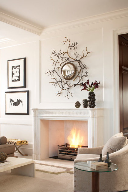 Contemporary Living Room by Jeff Herr Photography