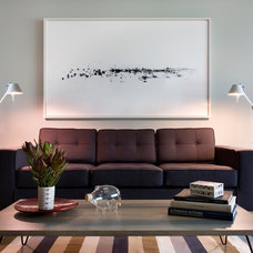 Contemporary Living Room by Laura Dante Photography