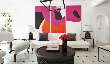 8 Clever Ways to Glam-Up the Living Room