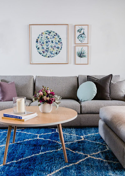 Modern Wohnbereich by Suzi Appel Photography