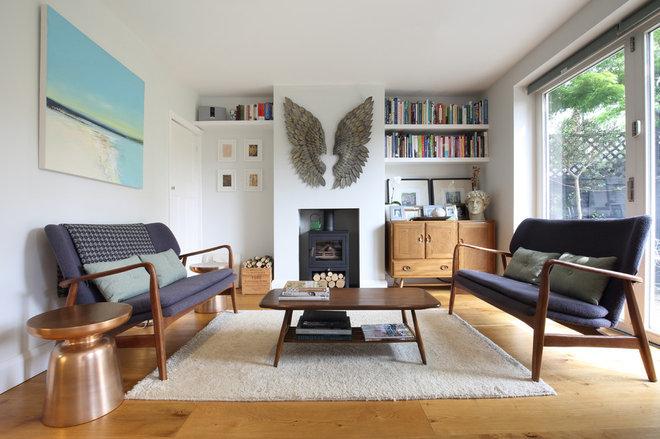 Scandinavian Living Room by Simon Mack Architecture