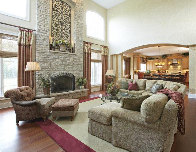 Traditional Living Room by Celeste Jackson Interiors, Ltd.