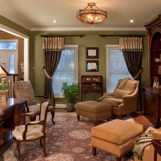 Traditional Living Room by Robinson Interiors