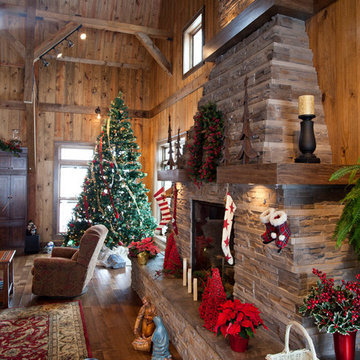 Iowa Gambrel Barn Home