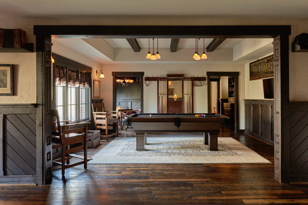 Rustic Living Room by New Old, LLC