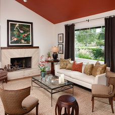 Contemporary Living Room by Catherine Monaghan