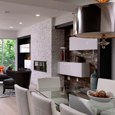 Contemporary Living Room by Davida's Kitchen & Tiles
