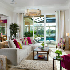 Contemporary Living Room by London Bay Homes