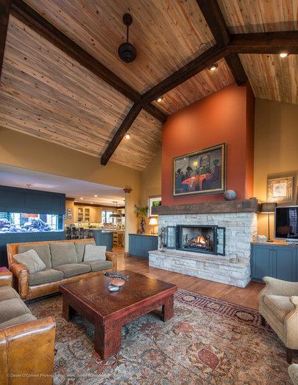 Contemporary Living Room by Daniel O'Connor Photography & Digital Media