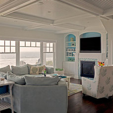 Traditional Living Room by Richard Moody & Sons Construction LLC
