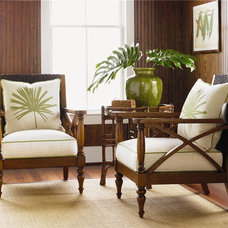 Tropical Living Room by Baer's Furniture