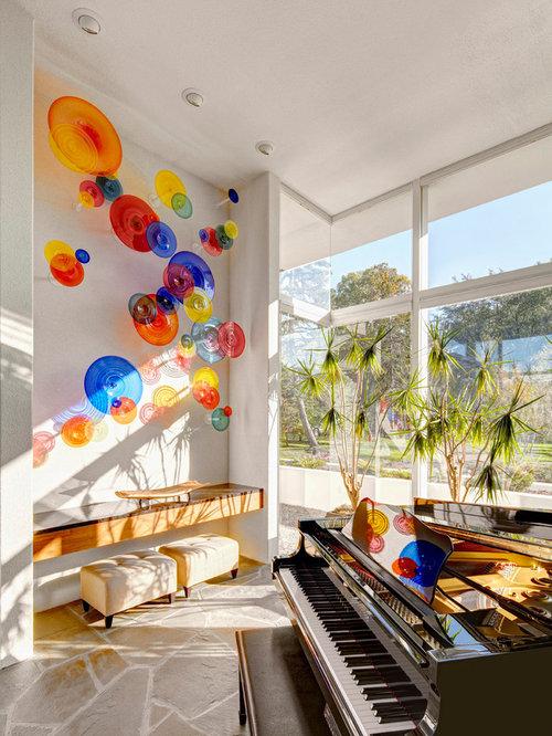 Wall Art For Glass : Glass wall art houzz