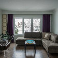 Contemporary Living Room by Dalton Distinctive Renovations