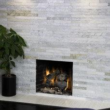 Modern Living Room by Island Stone