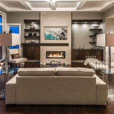 Contemporary Living Room by Alair Homes
