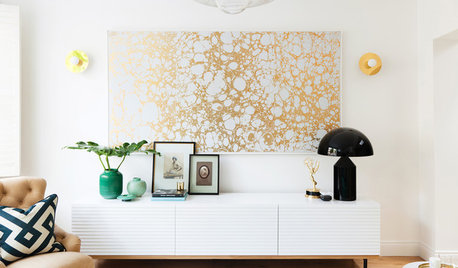 This is Why Your Living Room Should Include a Dash of Gold