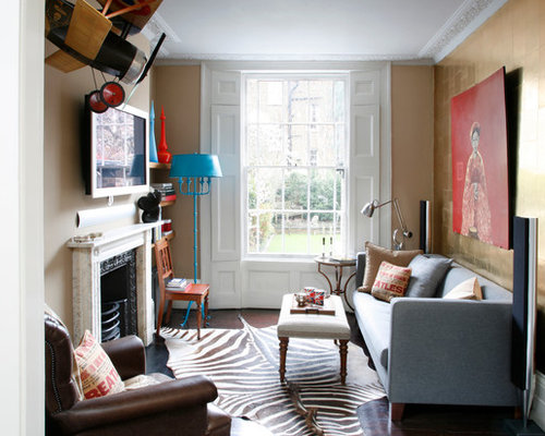 Small Traditional Living Room | Houzz