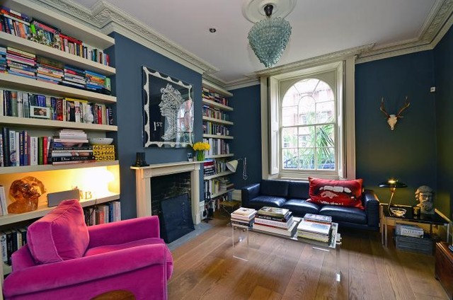 Eclectic Living Room Islington Townhouse London