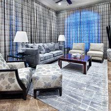 Living Room by JAUREGUI Architecture Interiors Construction
