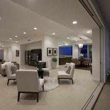 Contemporary Living Room by ADO:Ashworth Design Office