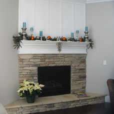 Traditional Living Room by Americrew - Your Kitchen & Bath Company