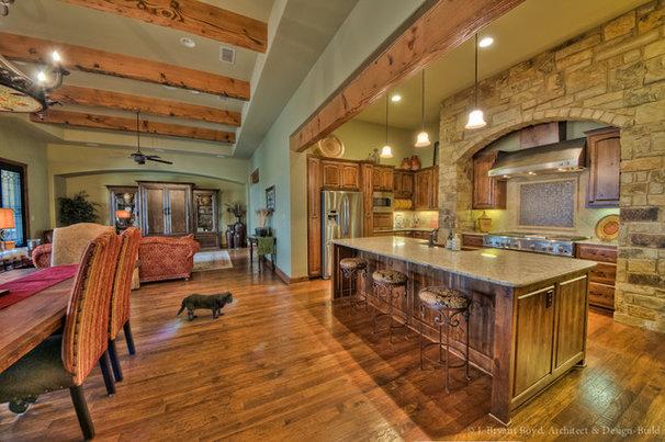 Living Room by J. Bryant Boyd, Design-Build