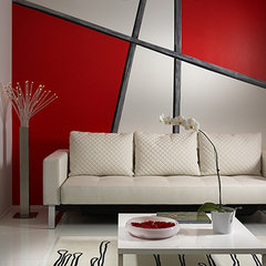 modern living room by J Design Group - Interior Designers Miami - Modern