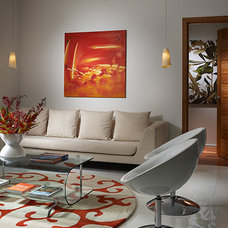 Contemporary Living Room by J Design Group - Interior Designers Miami - Modern