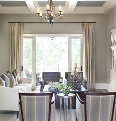 traditional living room by J Designs, Inc