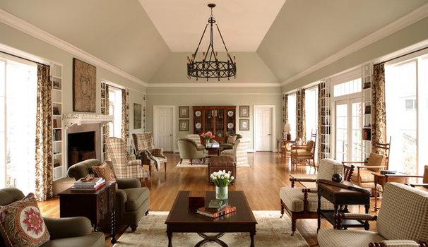 Traditional Living Room by J. Hirsch Interior Design, LLC