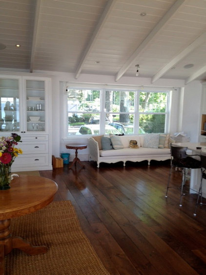 Traditional Living Room by White Pine Lumber