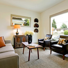Craftsman Living Room by Green Canopy Homes