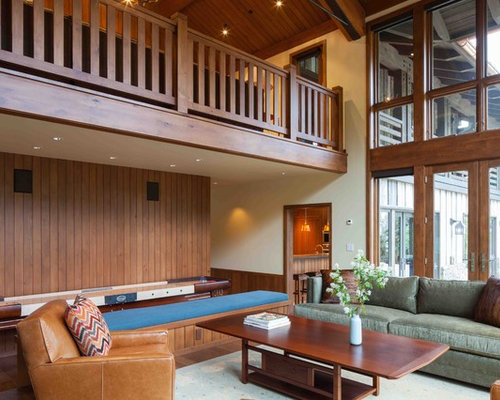 Nepali Wooden Railing Living Room Design Ideas Renovations
