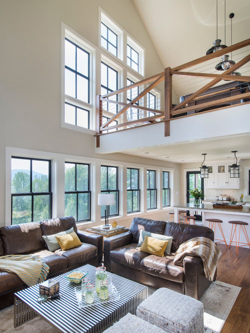 Small rustic living room design ideas remodels photos for Houzz small living rooms
