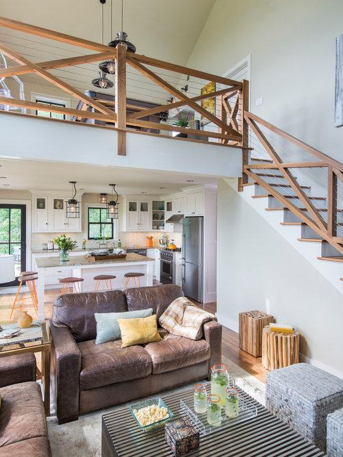 Small Rustic Living Room Design Ideas, Remodels & Photos ...