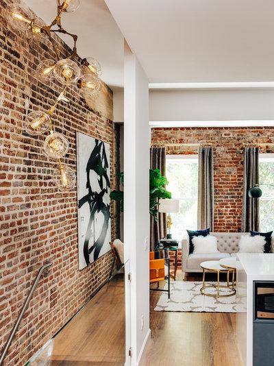 Modern Living Room by Deniece Duscheone Design