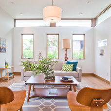 Contemporary Living Room by Building Solutions and Design, Inc