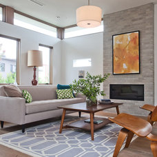 Midcentury Living Room by Building Solutions and Design, Inc