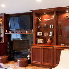 Traditional Living Room by DoMolding.com