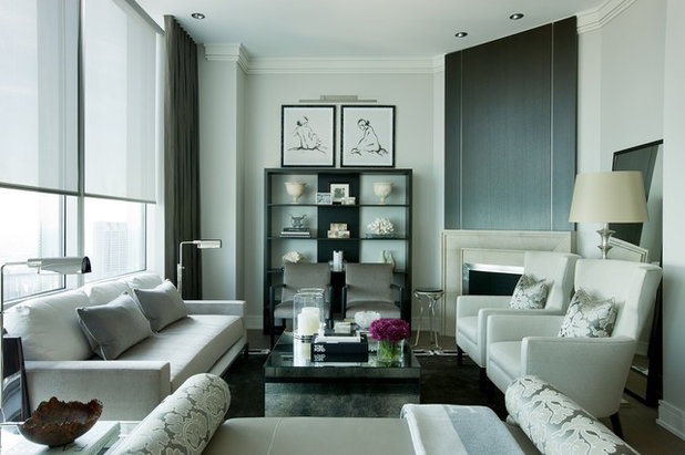 Contemporary Living Room By Jamesthomas Interiors