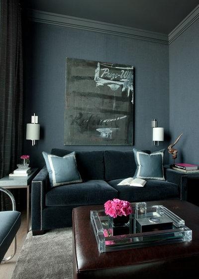 Classique Chic Salon by Jamesthomas Interiors
