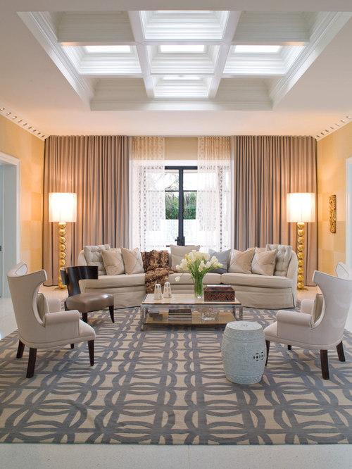 Hollywood Regency Living Room Design Ideas, Remodels & Photos | Houzz
